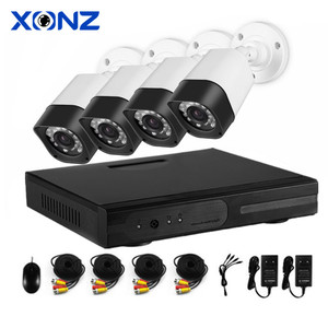 1080P 2mp Home Security 4ch Cctv Camera Kit System Outdoor AHD Camera Kit With DVR