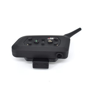 V6-1200 interphone waterproof 6 riders wireless intercom motorcycle bluetooth intercom for helmet