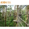 high ropes course Forest Children Outdoor Fitness Equipment Safety Ropes Course Adventure Park