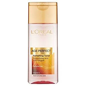Loreal Age Perfect Cleansing Milk Smoothing And Anti-Fatigue for Mature Skin 200 mL (Pack of 2) with Free Ayur Soap