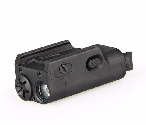 Military Army Combat Gun Airsoft Pistol light tactical weapon light with red laser and IR illuminator
