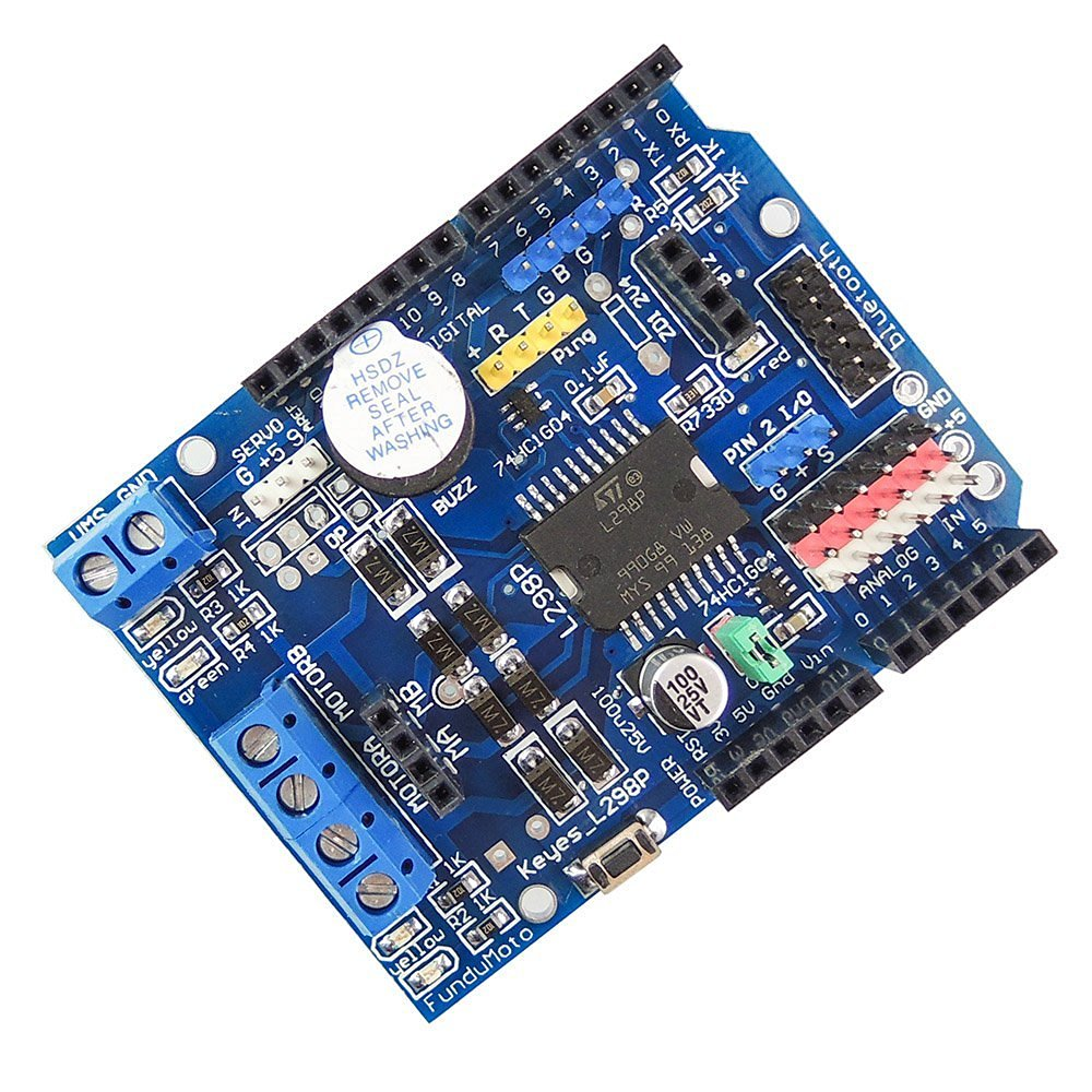 Cheap H Bridge Motor Driver Chip Find L293d Ic Circuit Free Circuits Get Quotations Uniquegoods L298p Shield R3 Dc Module 2a 2 Way For Arduino