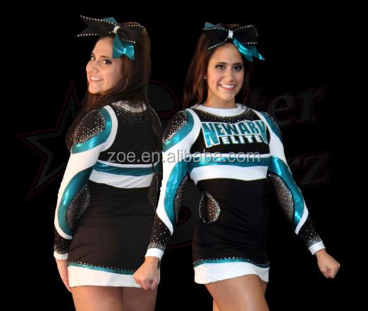 Women Glee Cheerleader Costume School Girl Full Outfits Fancy Dress Uniform