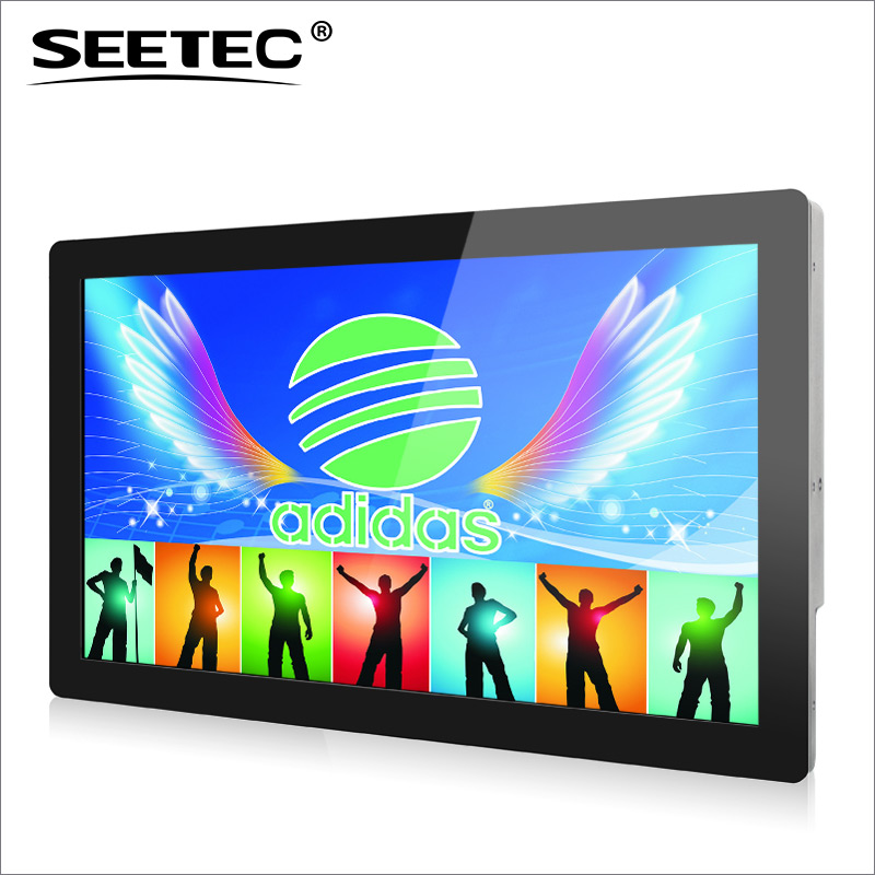 SEETEC 21.5 inch full hd portable dvd player with IPS panel capacitive touchscreen