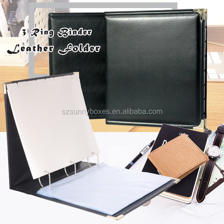 Leather D Ring Binder Suppliers And Manufacturers At Alibaba