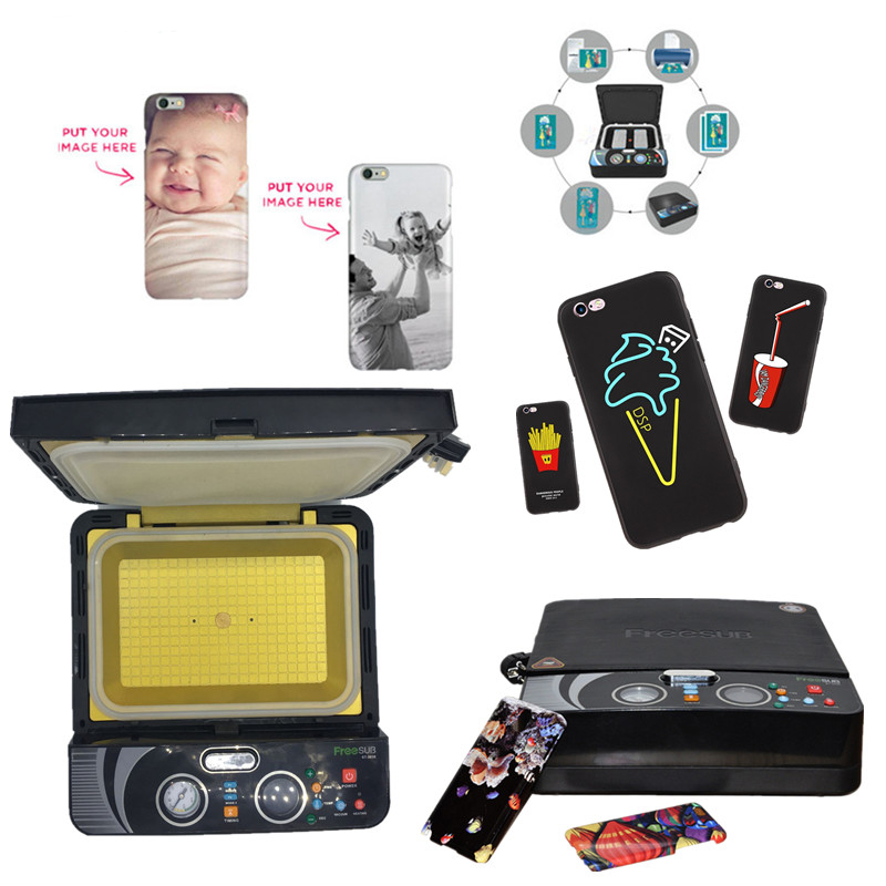 ST2030 Mini Light 3D Sublimation Machine Phone Case Printer Sublimation Vacuum Heat Press Machine for All Mobile Phone Cases