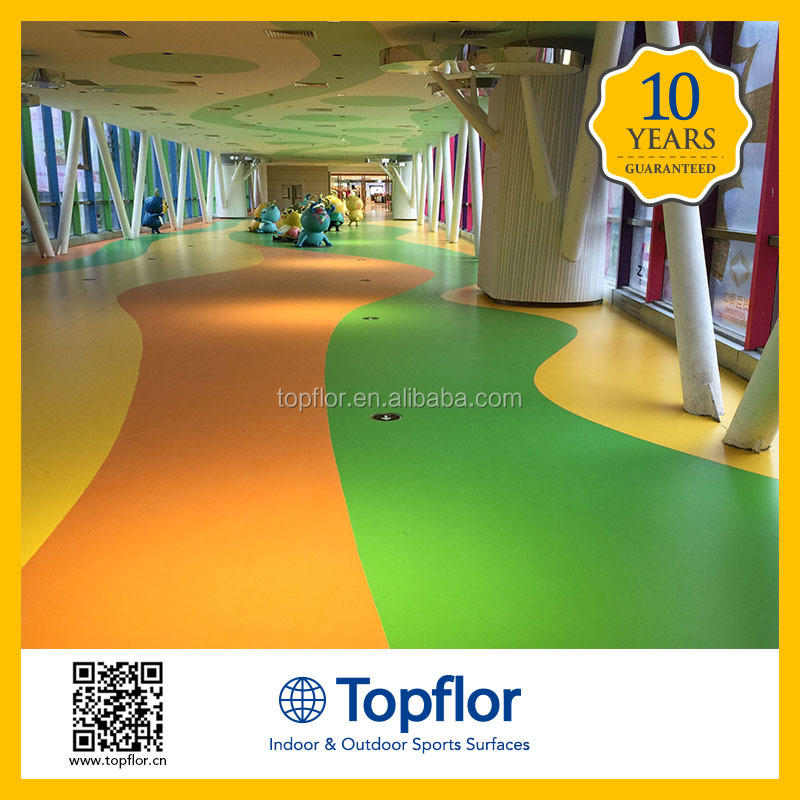 Best selling design morden eco friendly commerce pvc flooring for department store