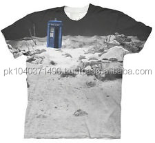 Doctor Who TARDIS Prehistoric Sublimation T-Shirt