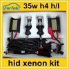 car headlight hid bi-xenon kit h4-4 8000k 12v 24v 35w