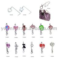 fashion foldable key buckle Purse/handbag/ bag hanger
