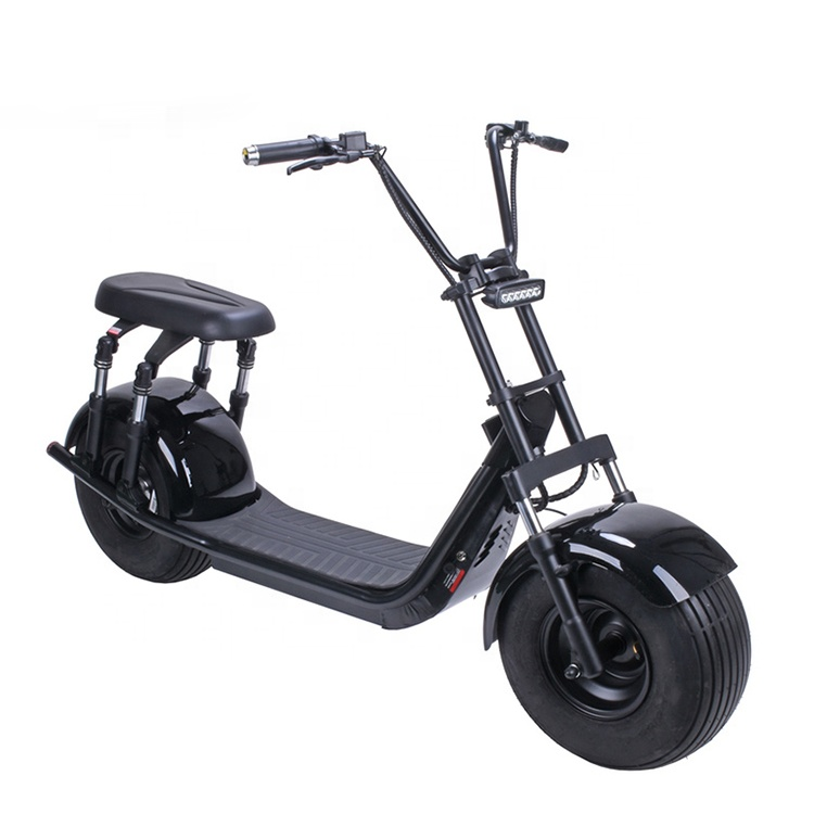 Europe Warehouse Stock Fat Tire Motorcycle City Coco Scooter,Electric Scooter City Coco, Black;red