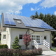 Good sales home use 5kw photovoltaic system solar power system on grid kit solar system 5kw
