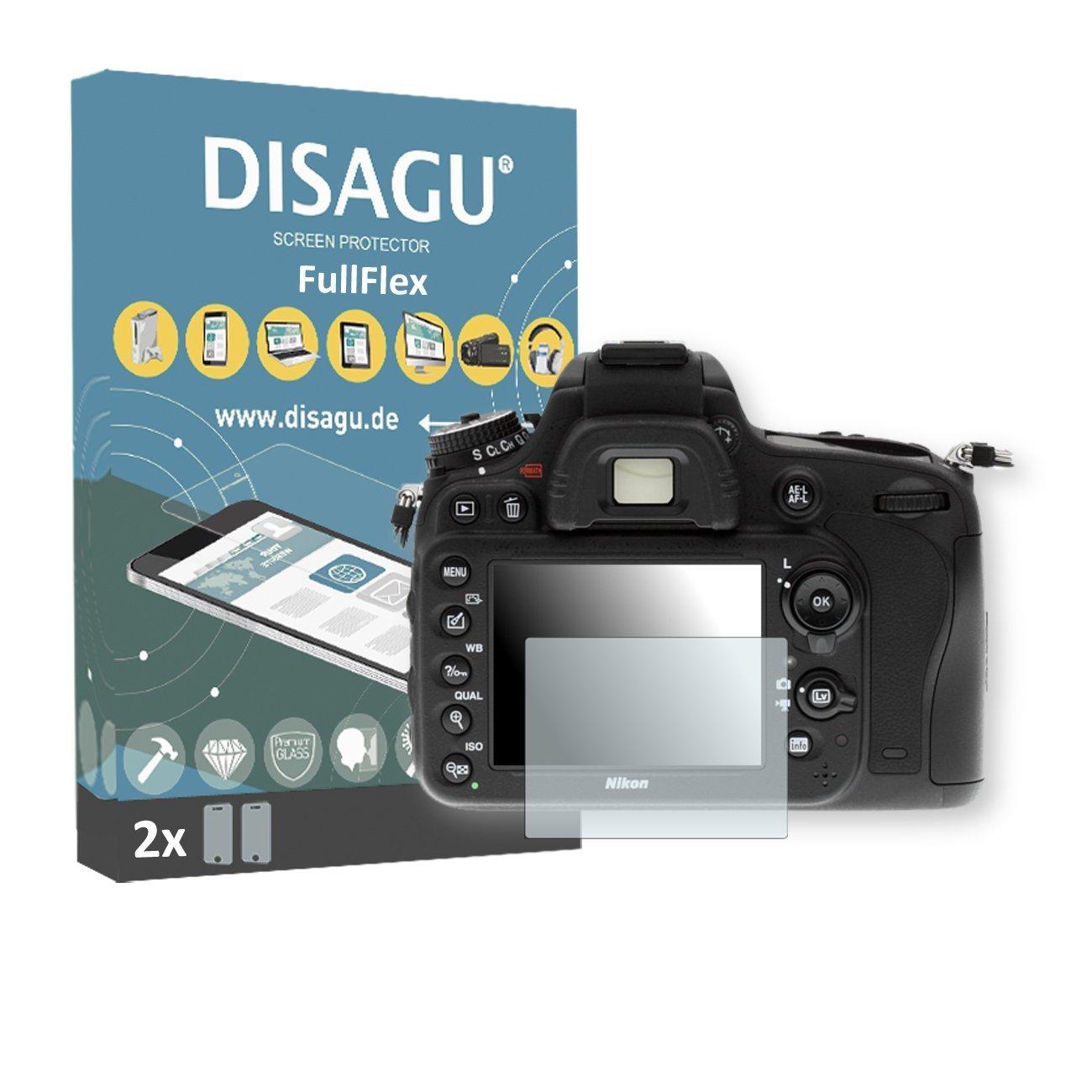 2 x Disagu FullFlex screen protector for Nikon D610 foil screen protector
