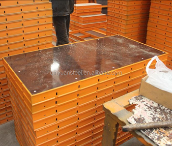 450*1800 construction steel formwork euro form factory