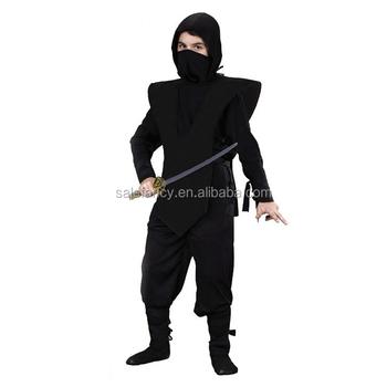 Black Ninja Costume Uniform Kids Teenage Boys Child Warrior Halloween Party Fancy Dress Costume QBC-  sc 1 st  Alibaba & Black Ninja Costume Uniform Kids Teenage Boys Child Warrior ...