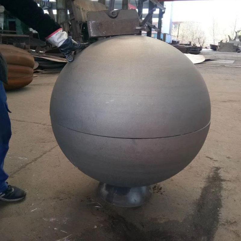 steel hemisphere