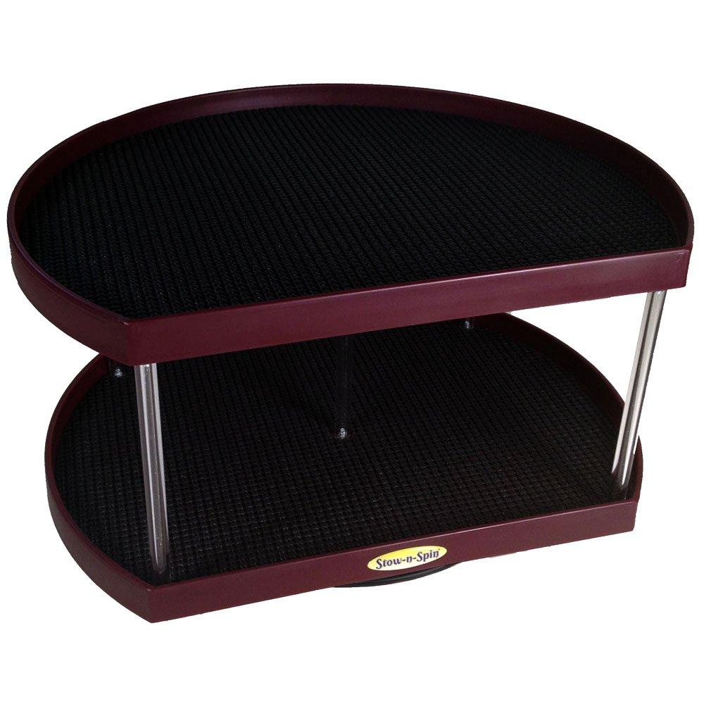 Buy Stow N Spin Kitchen Cabinet Storage Organizer 2 Tier