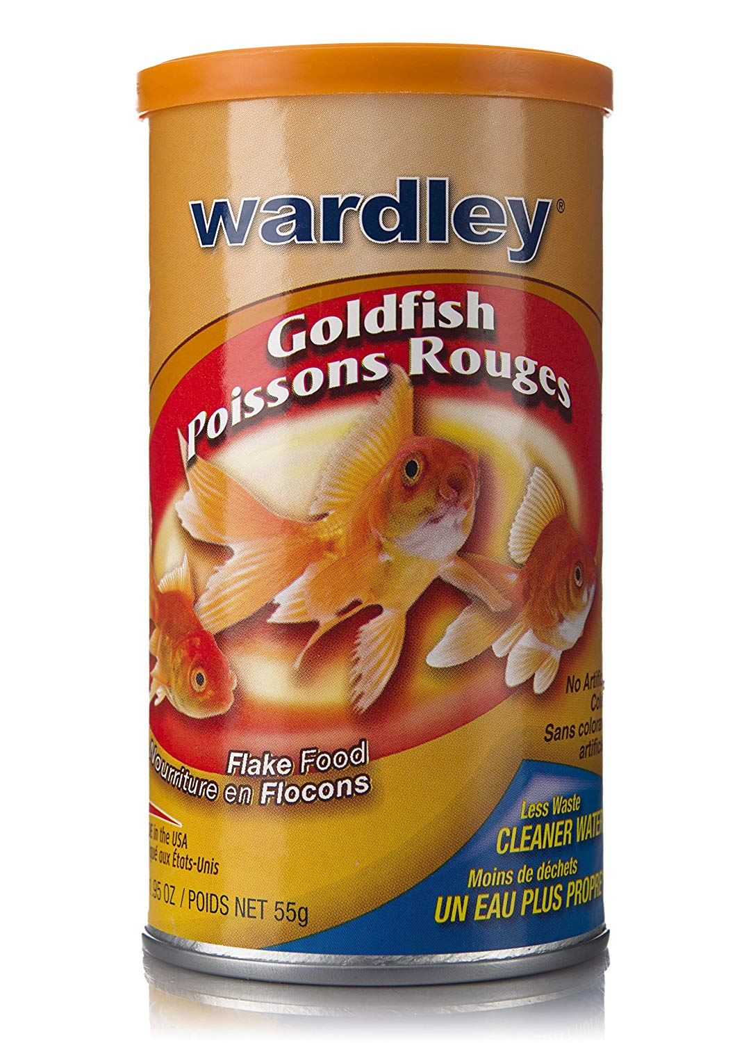 Hartz 01526 1.95 Oz Wardley Gold Fish Flakes