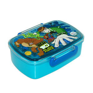 Kids plastic lunch boxes bento 46013