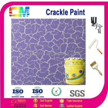 Interieur Verf- Decoratieve Crack Verf Watervast Emulsie - Buy ...
