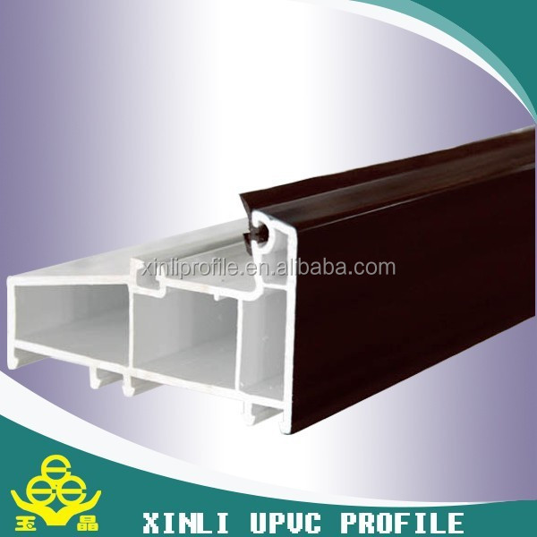 china factory pvc windows and doors profile pvc window profile/pvc plastic frame/upvc profile for window and door in china