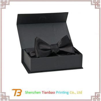 Luxury Black Bow Tie Packaging Boxes Tie Storage Boxes Wholesale