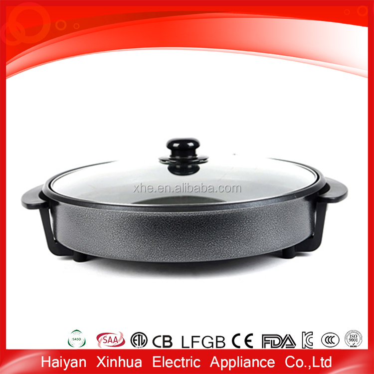 China supplie cheap round metal safety material mini pancake maker