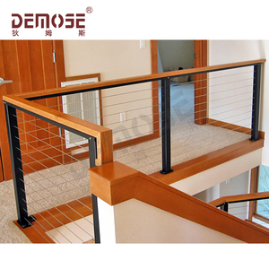 type of wood stair railings and handrails to Japan
