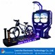9D virtual reality simulator 360 degree dynamic motion 9d vr bicycle
