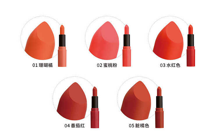 Hot Selling 5 Colors Kids Lip Gloss
