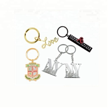 2018 Factory export customization gift letter r keychain