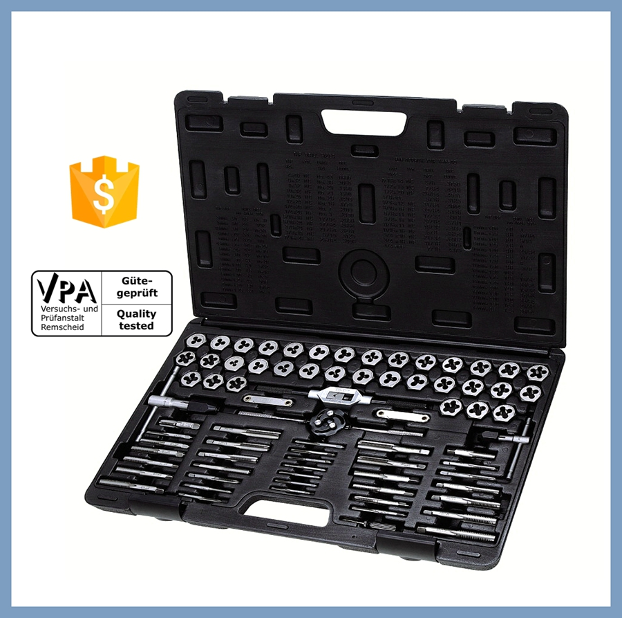 75pc Combination Standard Unc Unf Npt Tap Die Set For Sale - Buy Unc ...