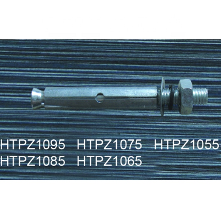 Metal internal expansion screw for air conditioner bracket assembling