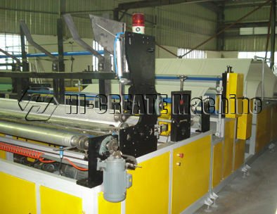 HC-TR manual put roll core Ordinary Toilet Paper Making Machine Price