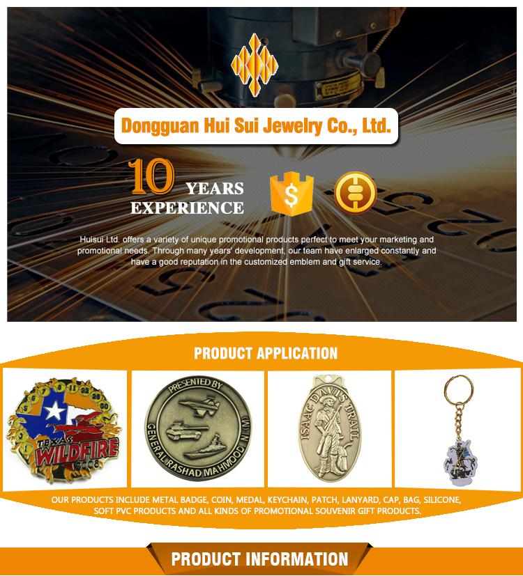 Logotipo personalizado de alta qualidade bonita metal marcador preço barato