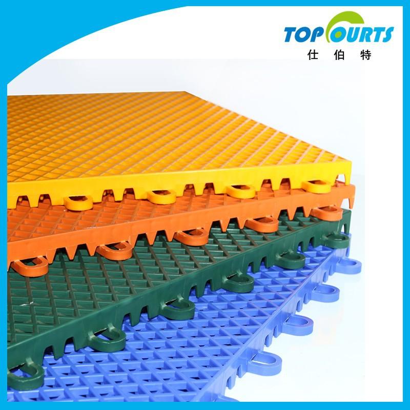 Interior y exterior piso de Color para cancha de baloncesto-Suelos ...