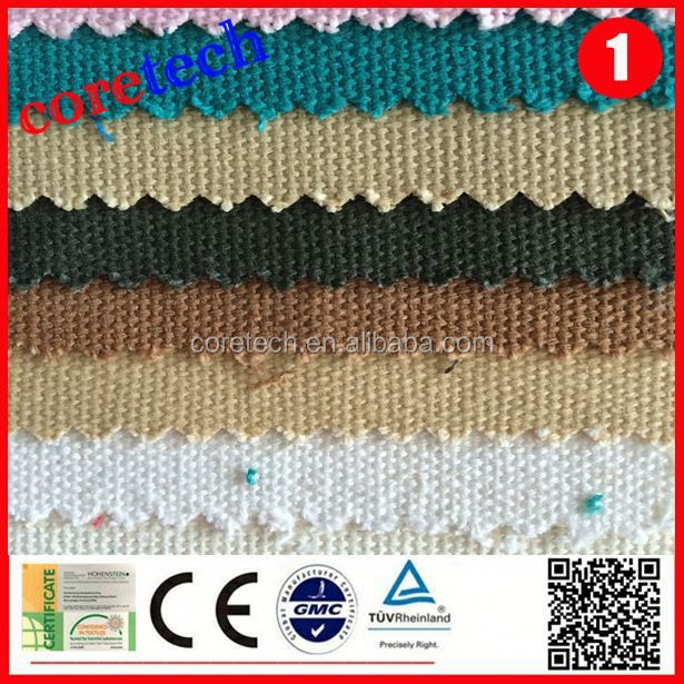 Durable wholesale cotton wax coated canvas fabric factory