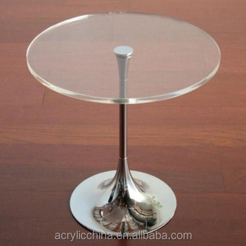 Custom Made Acrylic/plexiglass Round Table Top,High ...