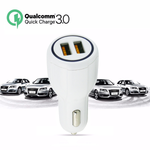 Universal 5v 9v 12v quick 3.0 car charger Fast Charging 5V 3.1A Smart Car Charger For Cell Phone
