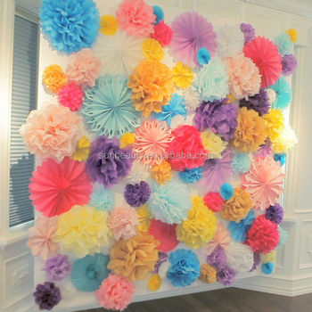 Colorful Party Decoration,Colorful Ideas For Rainbow Parties,Wall ...