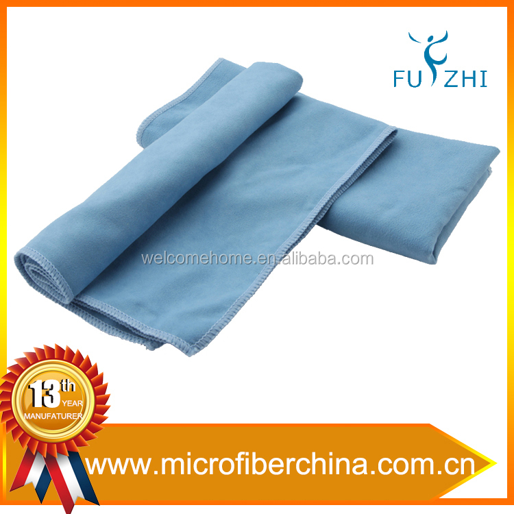 100%polyester Ultra Fine Microfiber Suede Lens Glasses Cleaning Towel