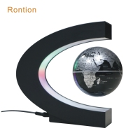 Magnetic levitating floating globe with C shape 3 inch 110V 220V Home Decoration