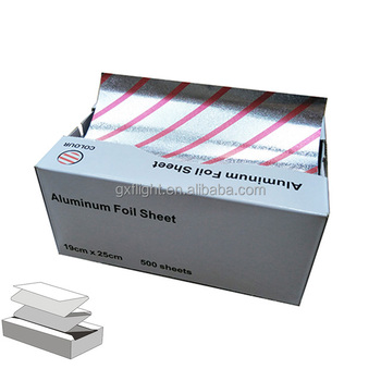 Inflight Removable Pre Cut Colored Aluminum Foil Sheet