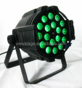 Professional stage light 18*15W RGBWA (UV) 6 in 1 led par zoom for Disco dj Weeding