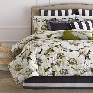 Martha Sunshine Poppy King 6 Piece Comforter Bed In A Bag Set