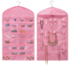 Jewelry Hanging Non-Woven Organizer Holder Over The Door Jewelry Organizer