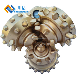 Durable 9 7/8 tci tricone bit for oil and gas equipment