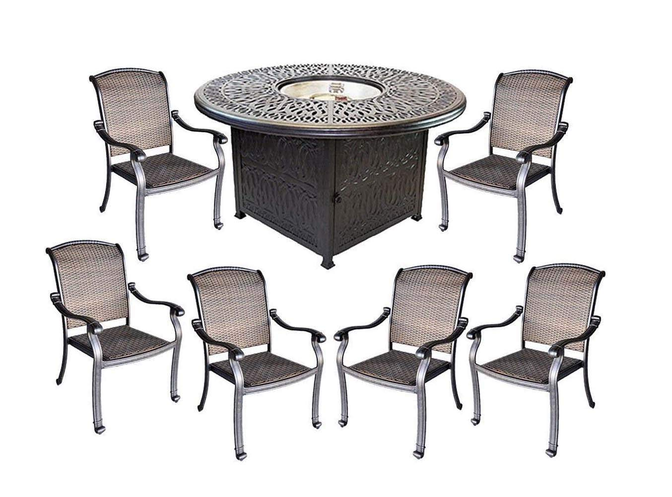 Admirable Cheap Fire Pit Dining Table Set Find Fire Pit Dining Table Squirreltailoven Fun Painted Chair Ideas Images Squirreltailovenorg