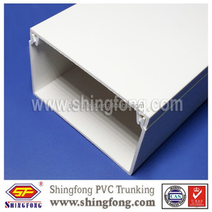 Singapore pvc network cable trunking electrical wire casing