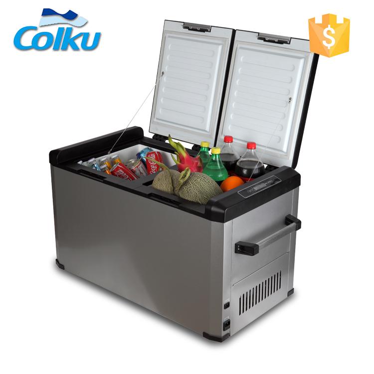 Dc Compressor 60l 12v 24v Refrigerator Camping Fridge Freezerr Portable -  Buy Camping Fridge Freezer,Portable Fridge Freezer,12v 24v Refrigerator